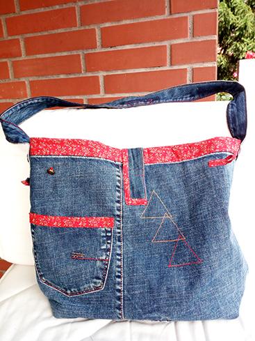 Borsa jeans Elena